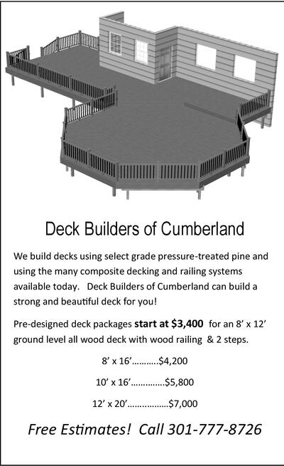 Cumberland Times News | Classifieds | Services | Deck Builders of ...