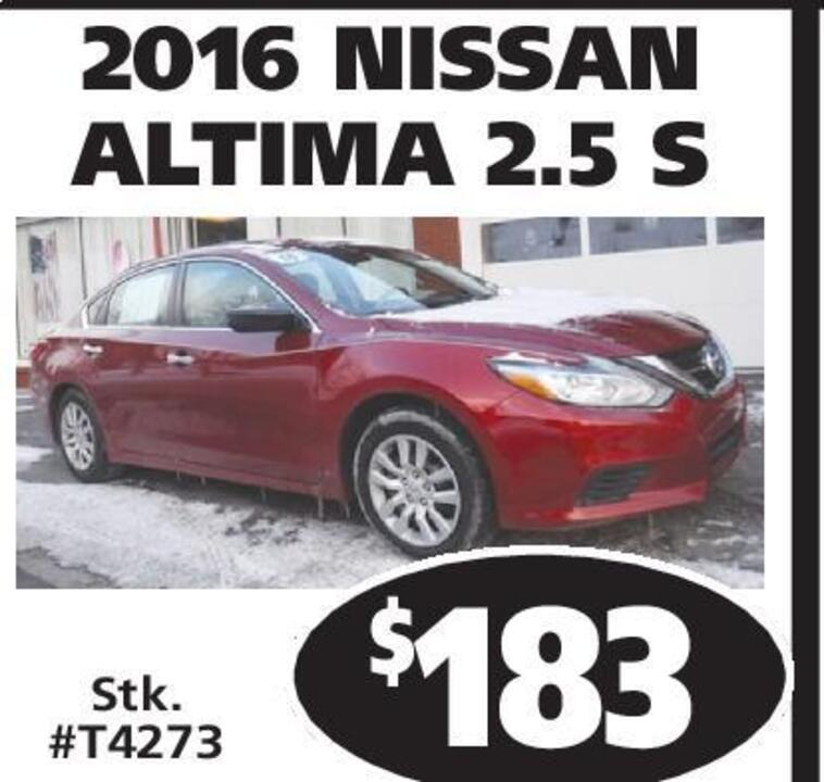 Record-Eagle   Classifieds   Dealer Special Autos   NISSAN ALTIMA 2.5 S