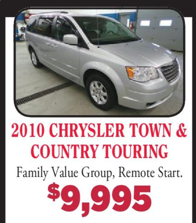 2010 Chrysler Town And Country Remote Start Chrysler Town