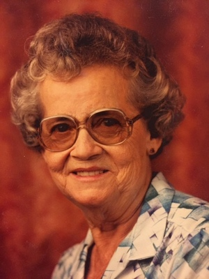 Ruby Jeanette (Russell) Riggs