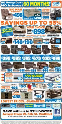 Furniture store newspaper ads Circular Photo Alamy The Stillwater Newspress Newspaper Ads Classifieds Furniture