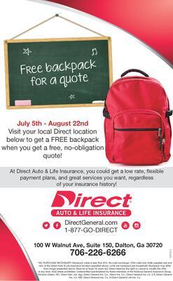 direct auto life insurance