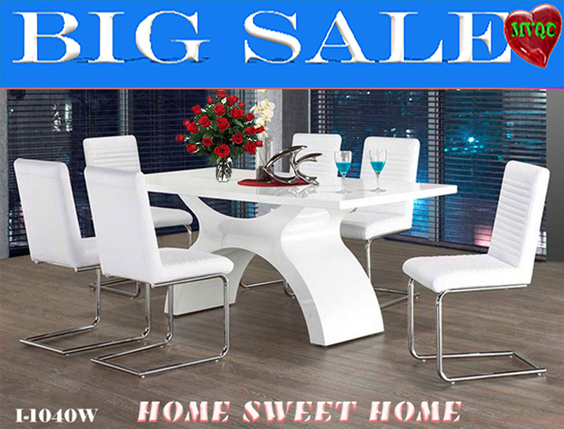 Modern Dining Tables Sets Kitchen Dinette Extendable Table