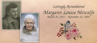 Margaret  METCALFE