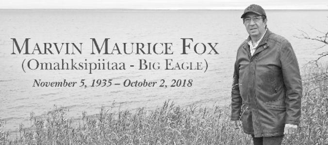 MARVIN MAURICE  FOX