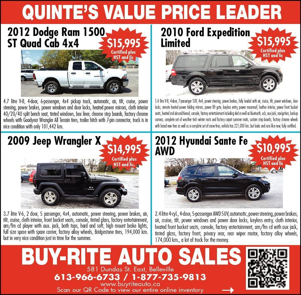 The Intelligencer Belleville On Classifieds Autos For Sale 2012 Jeep Wrangler Wiring Pin Subscribe