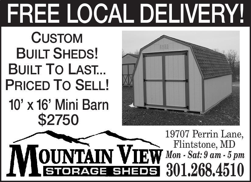 Cumberland Times News | Newspaper Ads | Classifieds | Home Improvement | CUSTOM  BUILT SHEDS! BUILT TO LASTu2026 PRICED TOSELL!