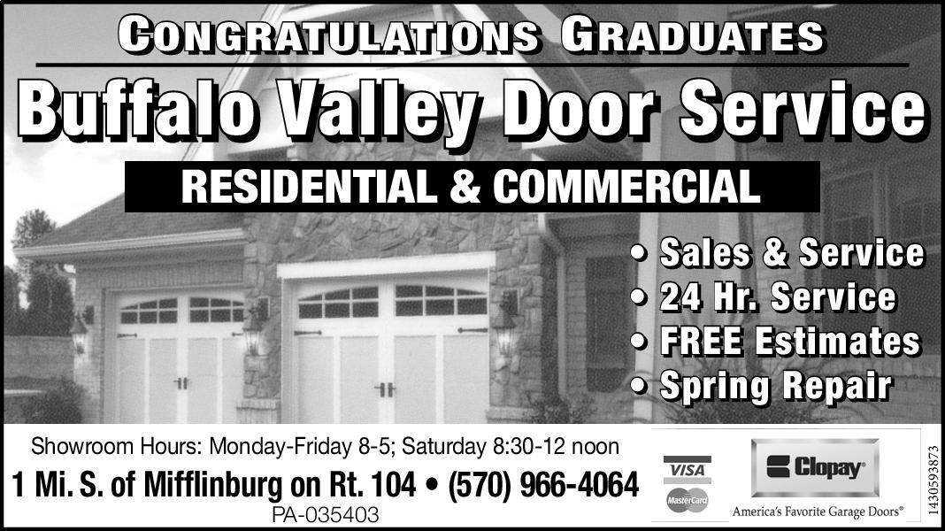 Superieur Buffalo Valley Door Service