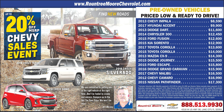 Rountree Moore Chevrolet