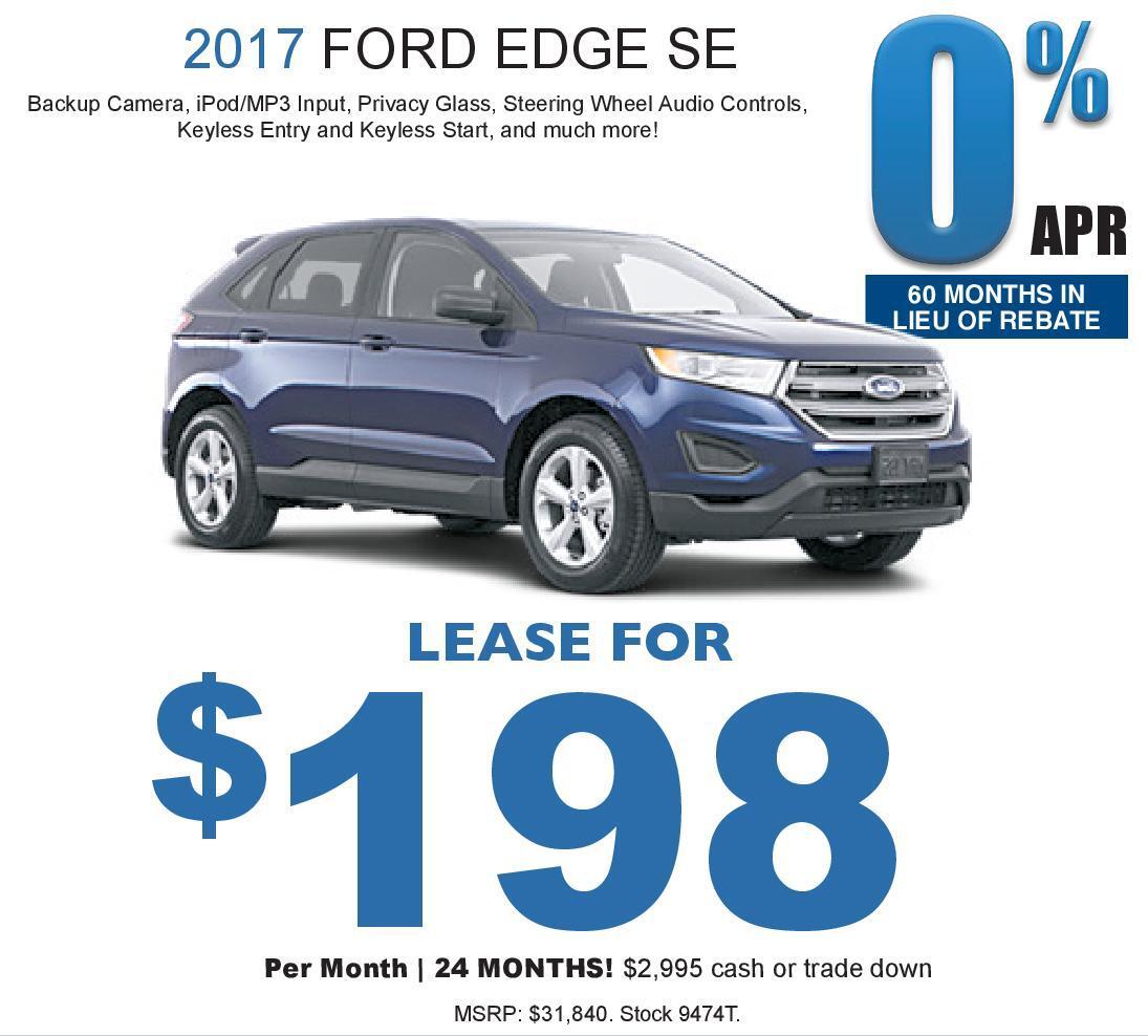 Ford Edge Se Kelly Ford