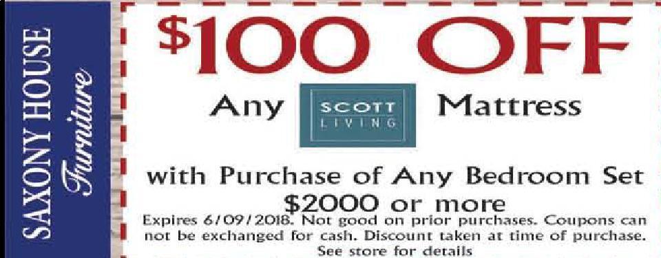 The Sharon Herald | Newspaper Ads | Classifieds | Shopping | SCOTT LIVING  $100 OFF