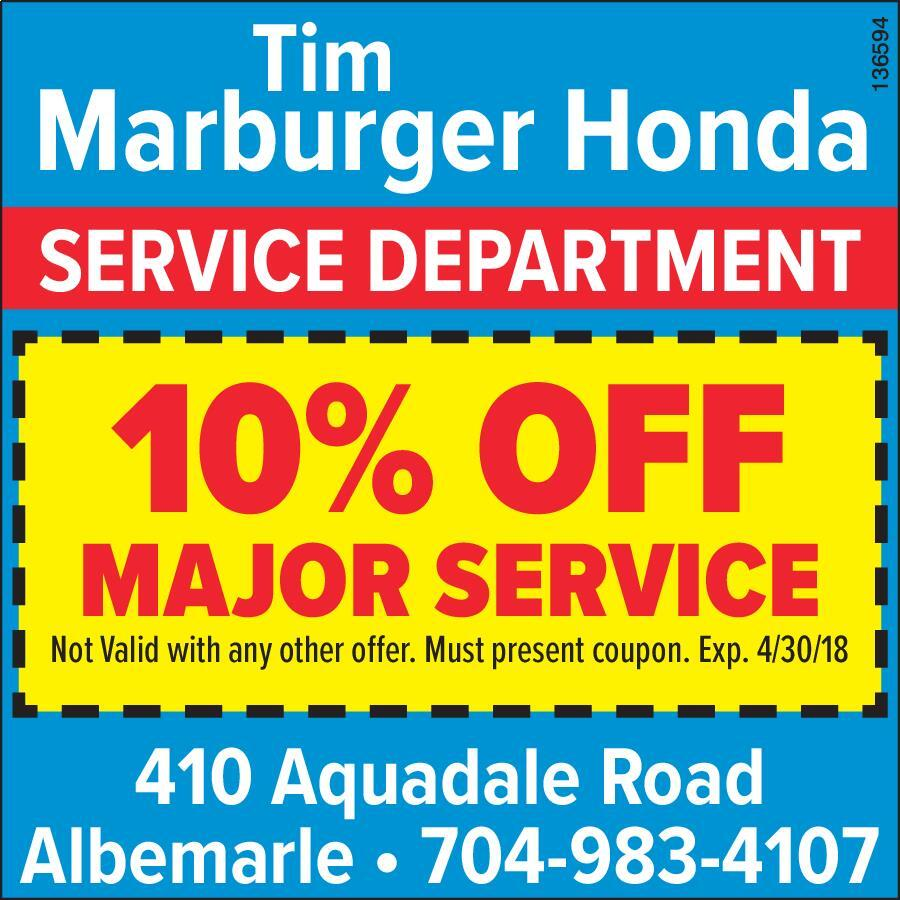 Tim Marburger Honda