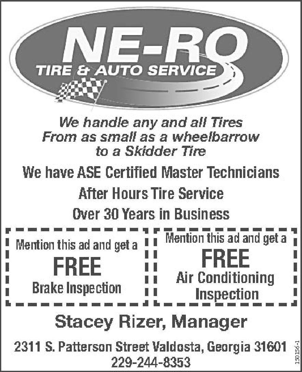 Ne Ro Tire Auto Service