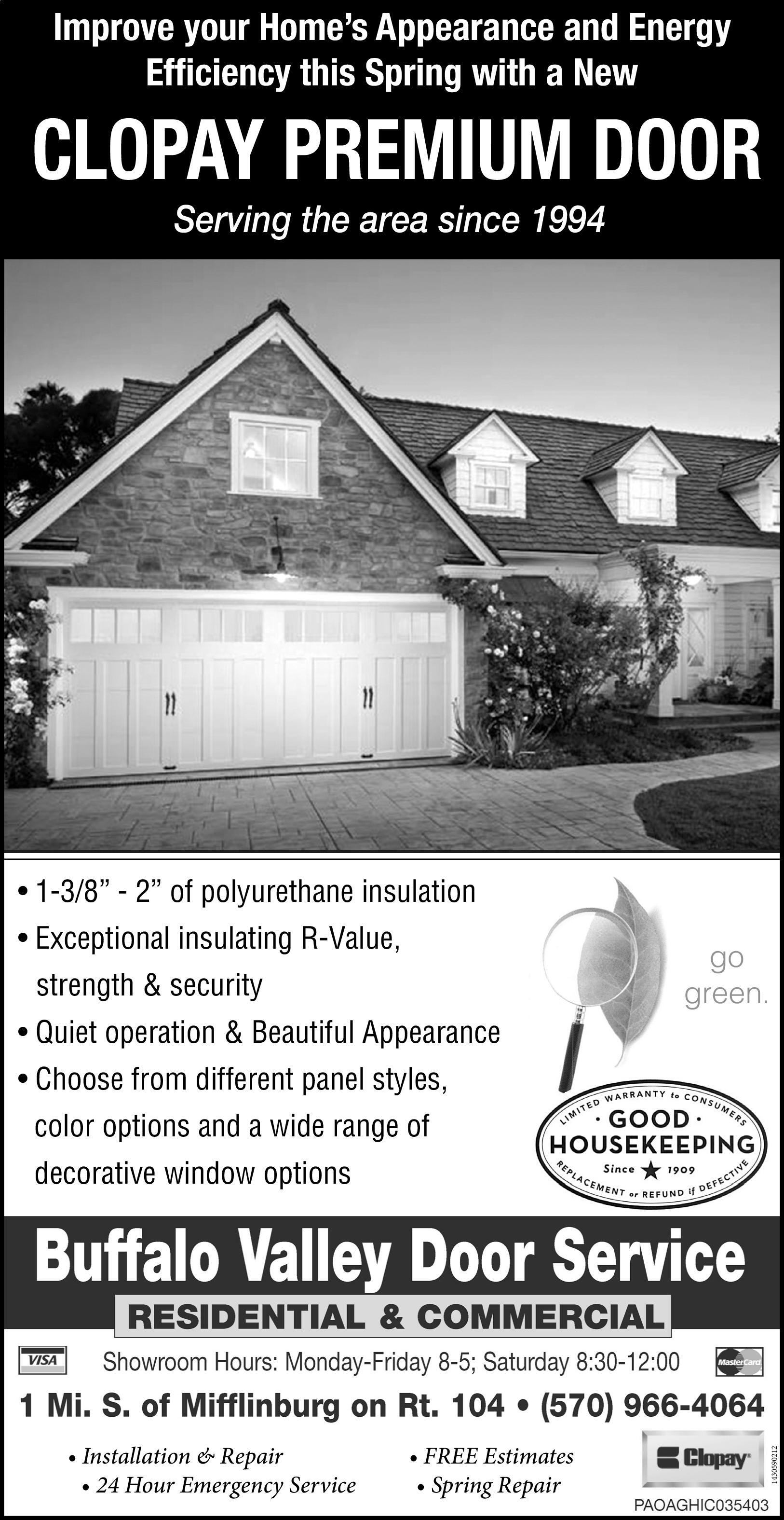 Beau The Daily Item | Newspaper Ads | Classifieds | Home Improvement | CLOPAY  PREMIUM DOOR