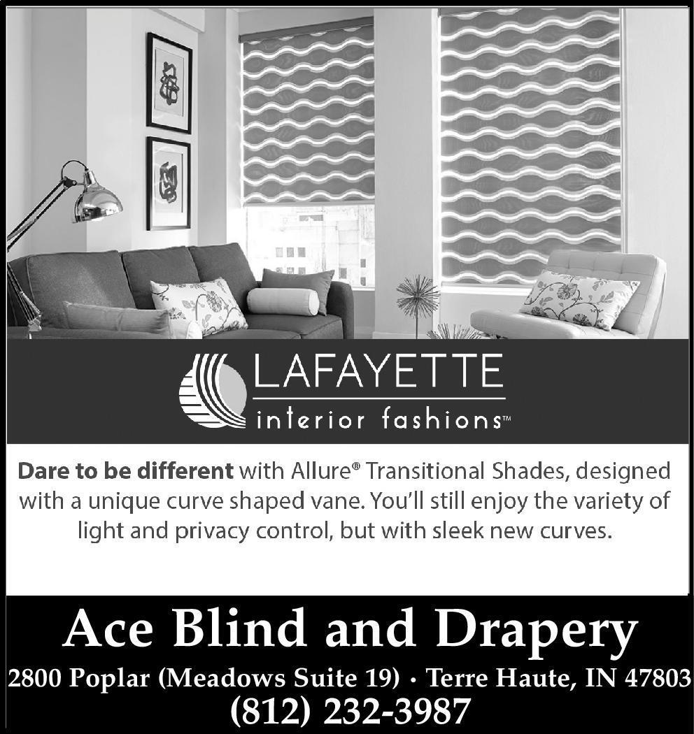 The Tribune Star | Newspaper Ads | Classifieds | Home Improvement | Ace  Blind And Drapery