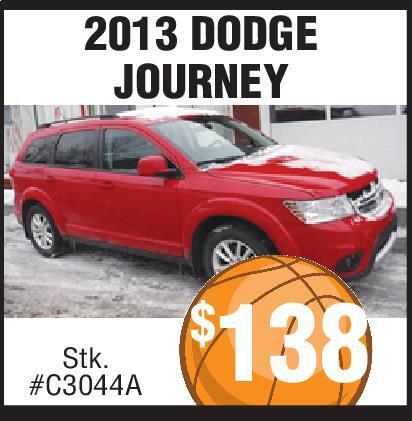 2013 DODGE JOURNEY FREEDOM Chrysler Jeep Dodge Ram