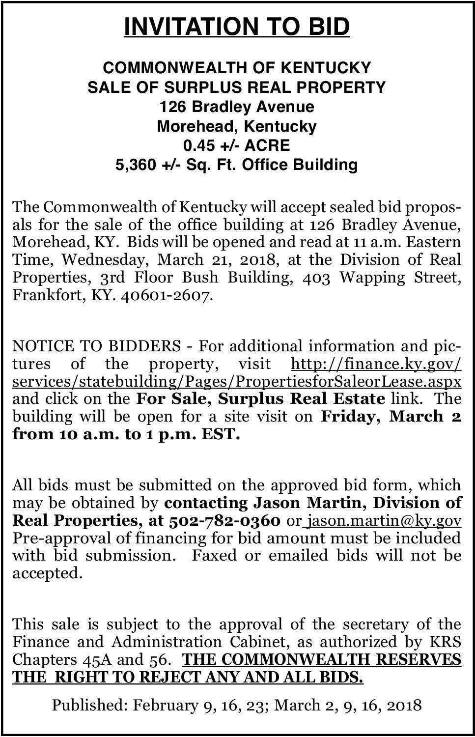 The Morehead News Newspaper Ads Classifieds Announcements