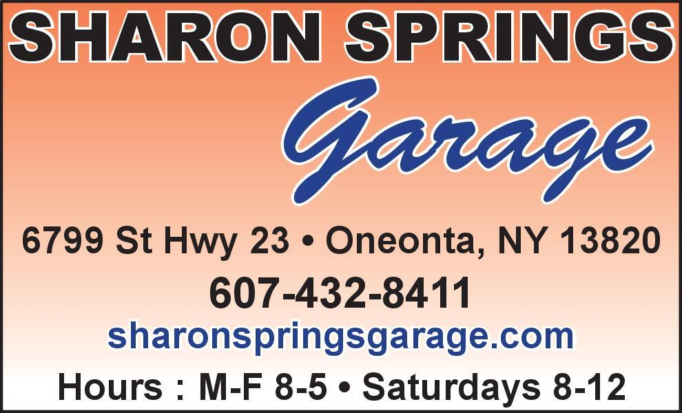 The Daily Star | Newspaper Ads | Classifieds | Agriculture | SHARON SPRINGS  Garage