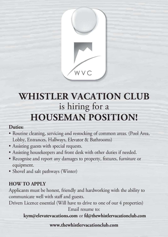 JobFind | Classifieds | Career Opportunities | HOUSEMAN