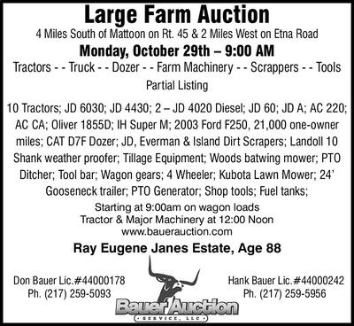 Effingham Daily News   Classifieds   Auctions