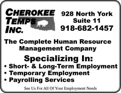 The Muskogee Phoenix | Classifieds | Employment Services