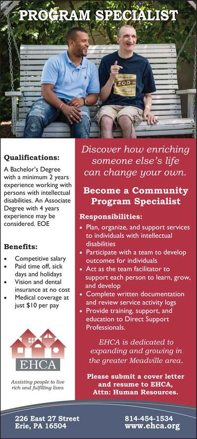 The Meadville Tribune Classifieds Employment View Image