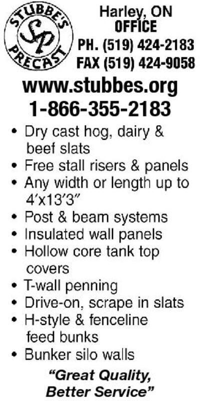 Ontario Farmer | Classifieds | Services
