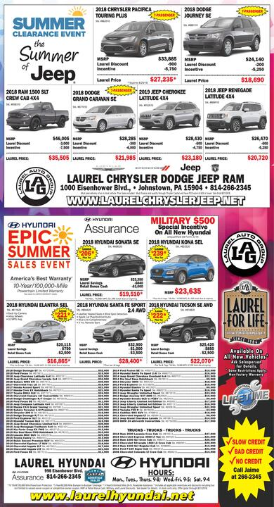 The Tribune Democrat Classifieds Transportation Hyundai Kona Sel