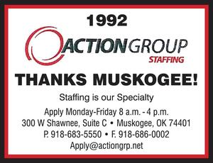 Action group staffing muskogee oklahoma