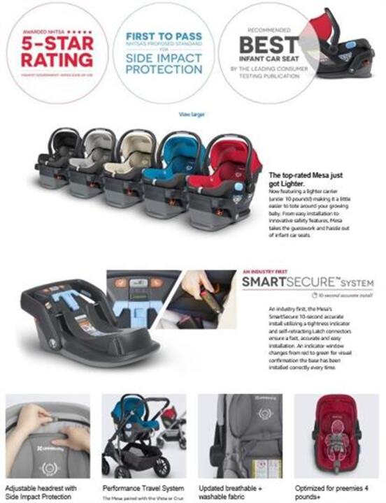 The Infant Car Seat Simplified With Its Unique Design And Engineering Mesa Combines Safety Simplicity In One From Easy Installation To Innovative