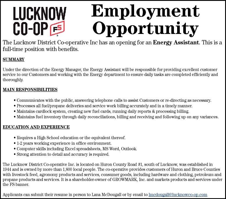 Lucknow Sentinel Classifieds | Employment Opportunity T