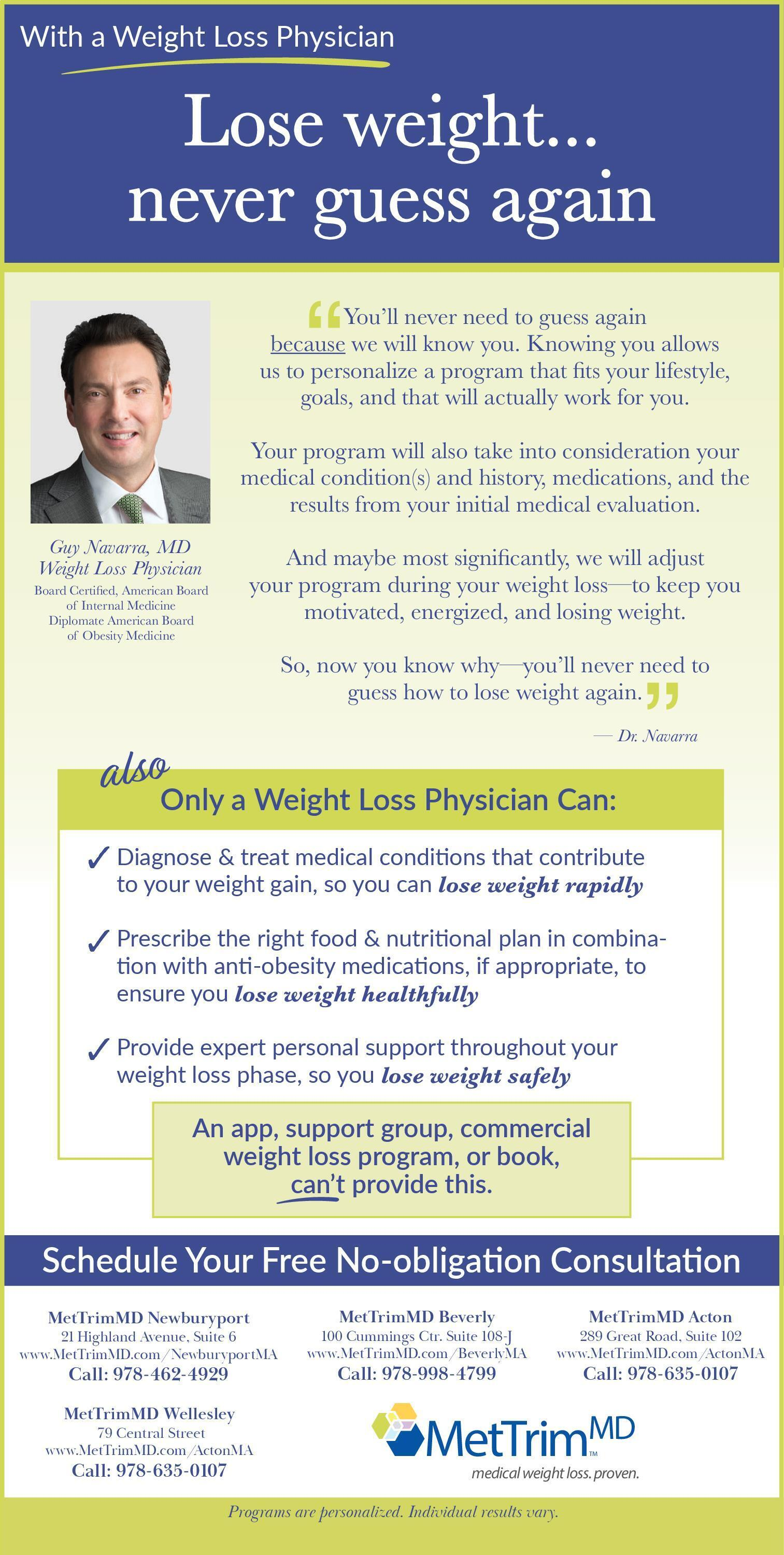 Medical loss program is a weight what
