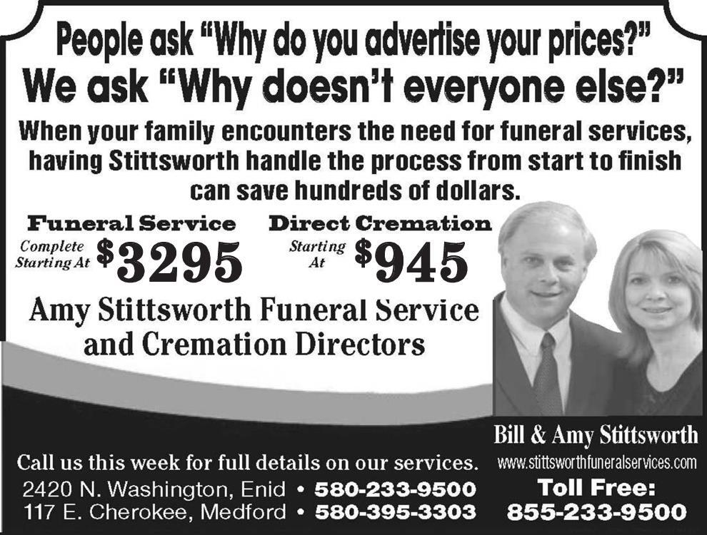 Amy Stittsworth Funeral Service and Cremation Directors