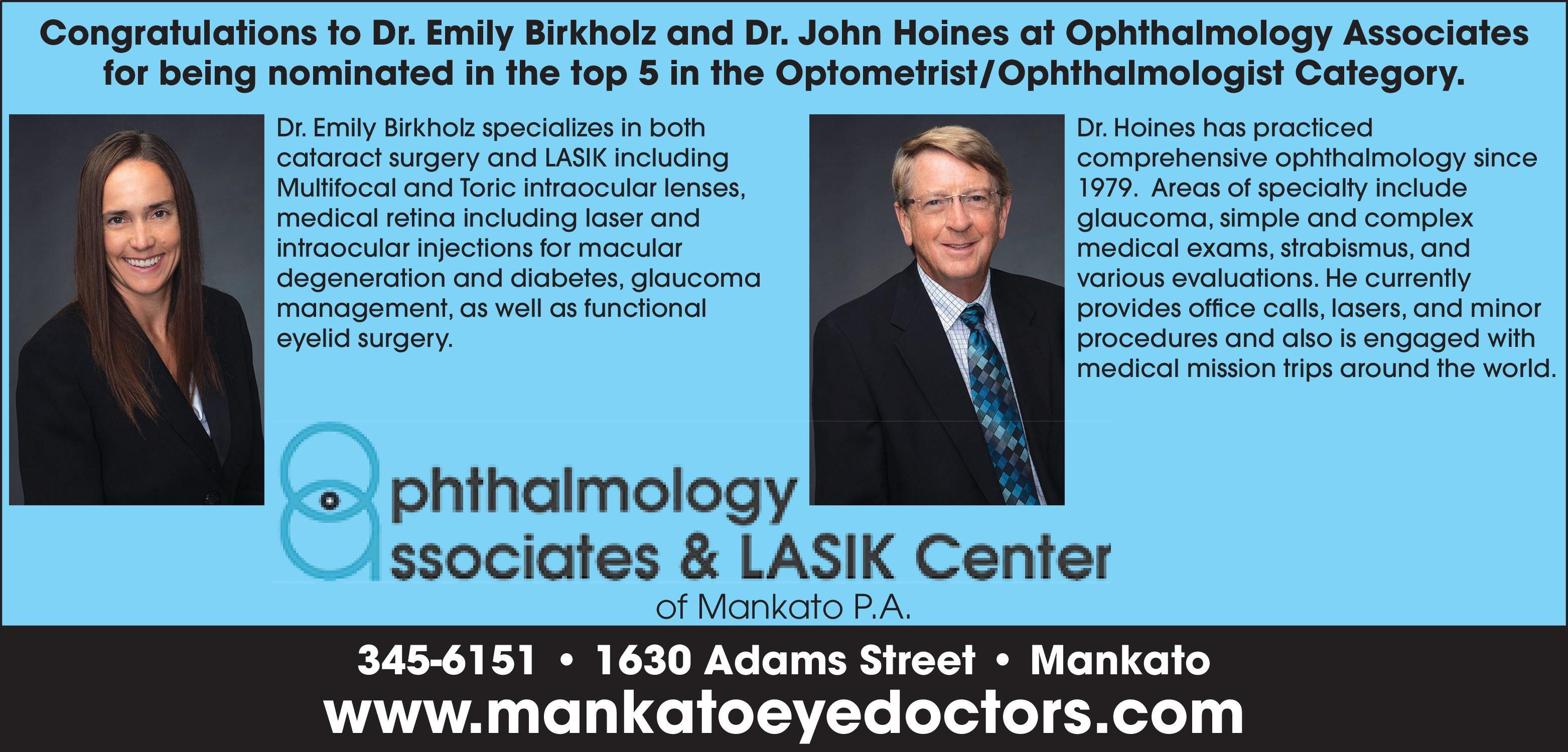Ophthalmology Associates & LASIK Center of Mankato PA