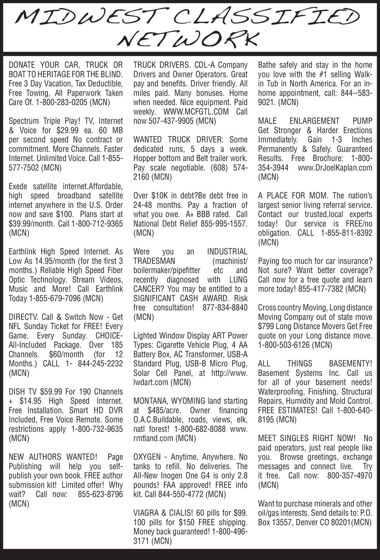 Mankato Home Magazine | Newspaper Ads | Classifieds