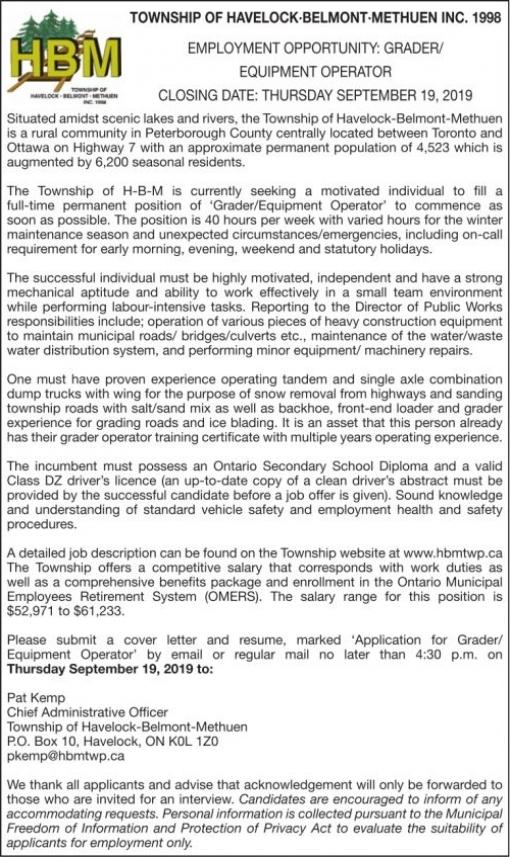 Community Press | Classifieds | Employment & Education